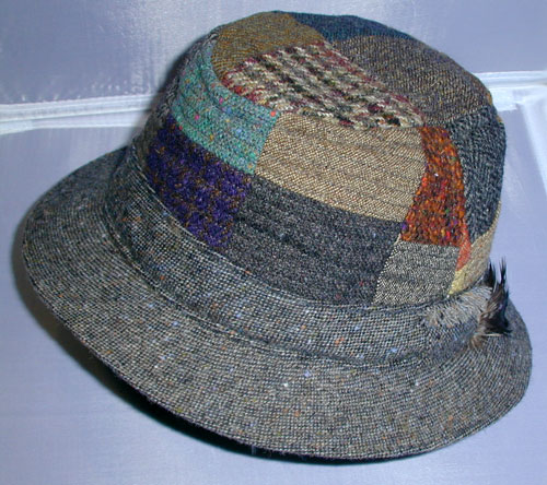 Hanna Irish Tweed Walking Hat. Irish Hats Caps Delmonico Hatter. Donegal  Patch Walking Hat. Donegal Hats And Caps Patch Linen From Irish Too 1225f20c6ccc