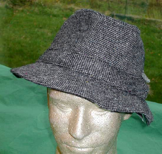 04e9affb5fe Donegal Tweed Walking Hat